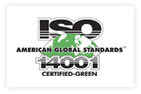 Zak is now ISO 14001 Certified